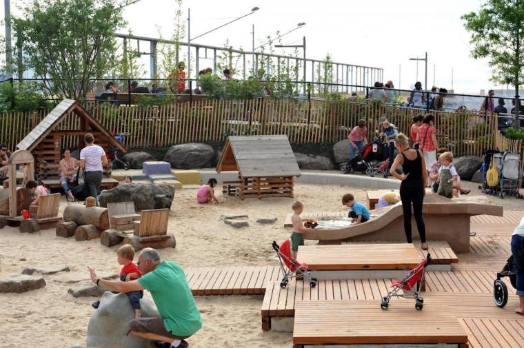 Pier 6 at Brooklyn Bridge Sandbox from google images copy