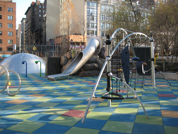 Union Square park playground from NYCGOVParks' website